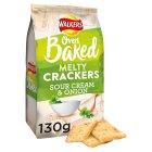 Walkers Melty Crackers Sour Cream & Onion - 130g