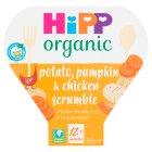 Hipp organic growing up meal chicken scrumble - 230g