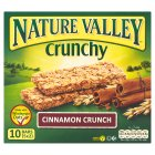 Nature Valley crunchy bars cinnamon crunch - 5x42g Brand Price Match - Checked Tesco.com 21/04/2014