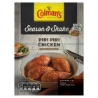 Colman's Season & Shake piri piri chicken seasoning mix