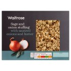 Waitrose sage & onion stuffing - 225g