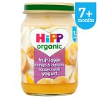 Hipp organic fruit duet, mango & banana with yogurt - stage 2