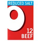 Oxo 12 Reduced Salt Beef Cubes - 71g