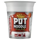 Pot Noodle sticky rib flavour - 90g Brand Price Match - Checked Tesco.com 20/05/2015