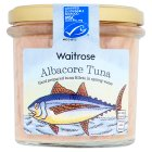 Waitrose albacore tuna in spring water - drained 150g