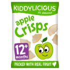 Kiddylicious apple crisps - 12g