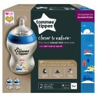 Tommee Tippee Close to Nature Decorated Bottles (2 per pack) - 2s Brand Price Match - Checked Tesco.com 04/12/2013