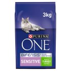 Purina One Sensitive Turkey - 3kg