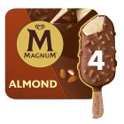 Magnum Almond - 4x100ml Brand Price Match - Checked Tesco.com 27/07/2016