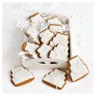 12 Blossom Gingerbread Biscuits - IVORY - 12s