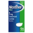 Nicotinell mint lozenge, 1mg - 96s Brand Price Match - Checked Tesco.com 16/04/2014