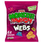 Monster Munch Webs 6 Pack - 6x14.9g