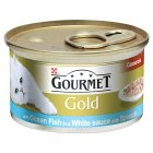 Gourmet Gold fish casserole with spinach in white sauce - 85g Brand Price Match - Checked Tesco.com 04/12/2013