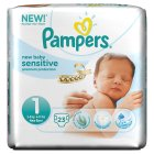 Pampers New Baby Sens 1 Carry 23 Nappies - 23s Brand Price Match - Checked Tesco.com 15/10/2014