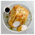 Heston from Waitrose Turkey Breast on the Bone with Brining Kit, Herb Butter and Gravy -