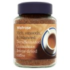 Waitrose decaffeinated Colombian coffee