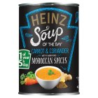 Heinz carrot & coriander Moroccan spices - 400g Brand Price Match - Checked Tesco.com 29/07/2015