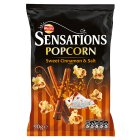 Walkers Sensations sweet cinnamon & salt sharing popcorn - 90g Brand Price Match - Checked Tesco.com 28/07/2014
