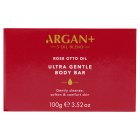 Argan+ Moroccan Rose Soothing Bar - 125g