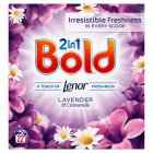 Bold 2in1 Lavender & Camomile Powder 1.76KG laundry detergent 22 washes