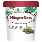 Häagen-Dazs mint leaves & chocolate