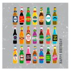 Beer Birthday Card - each