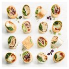 Vegetarian wrap Platter 18 pieces - each