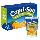 Capri-Sun orange no added sugar - 10x200ml