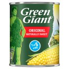 Green Giant canned tender & crisp original sweetcorn - drained 165g Brand Price Match - Checked Tesco.com 16/07/2014