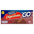 McVities Chocolate Digestives To Go - 6x33.3g