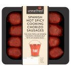 Unearthed 12 mini hot & spicy chorizo sausages - 250g