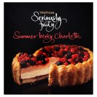 Waitrose seriously fruity summer berry Charlotte