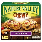 Nature Valley chewy trail bars fruit & nut - 6x30g Brand Price Match - Checked Tesco.com 14/04/2014