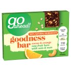 Go Ahead! Goodness Bar Cocoa & Orange - 4x30g