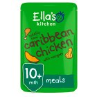 Ella's Kitchen Organic totally cool caribbean chicken with mangoes- stage 3 baby food - 190g Brand Price Match - Checked Tesco.com 30/07/2014