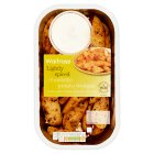 Waitrose Potato Wedges with Sour Cream Dip - 400g