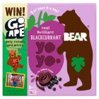 Bear pure fruit yoyos blackcurrant - 5x20g