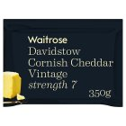Waitrose Cornish Cheddar Vintage Strength 7 - 350g