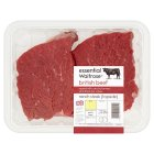 essential Waitrose beef ranch steak - 370g