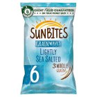 Sunbites original wholegrain snacks multipack crisps - 6x25g