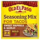 Old El Paso mix for beef tacos - 35g Brand Price Match - Checked Tesco.com 16/07/2014