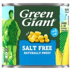 Green Giant canned naturally sweet sweetcorn, no added salt & sugar - drained 285g Brand Price Match - Checked Tesco.com 23/07/2014
