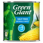 Green Giant canned naturally sweet sweetcorn, no added salt & sugar - drained 285g Brand Price Match - Checked Tesco.com 29/10/2014