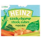 Heinz Organic vegetable stock cubes (pack of 6)
