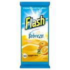 Flash cleaning wipes Mediterranean orange