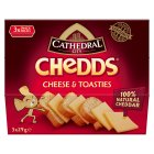 Cathedral City Chedds cheese & toasties - 3x29g