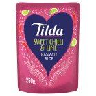 Tilda Steamed Basmati Rice With Chilli & Lime - 250g Brand Price Match - Checked Tesco.com 04/12/2013