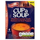 Batchelors Cupa Soup Tomato & Red Pepper - 4s