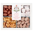Christmas Turkish Delight Nut Selection - 250g