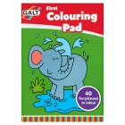 Galt sticker colouring book -